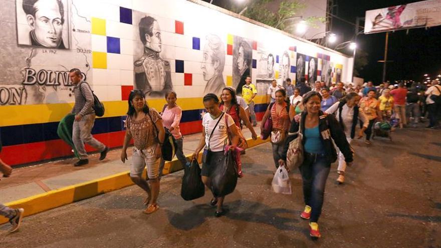 Más de 1,7 millones de venezolanos entró a Colombia tras la reapertura de la frontera