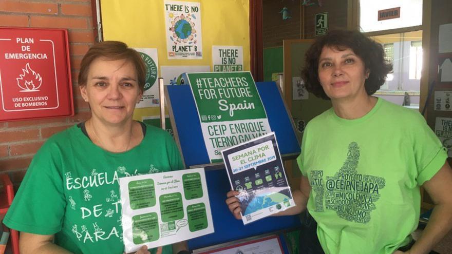 Carmen Golder (izquierda) y Patricia Ibarra (derecha)