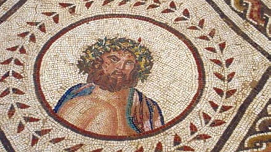 Mosaico de Júpiter, en Itálica