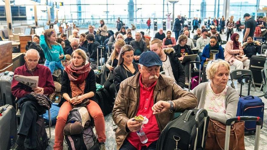 La huelga de pilotos de SAS entra en su cuarto día con 2.800 vuelos cancelados