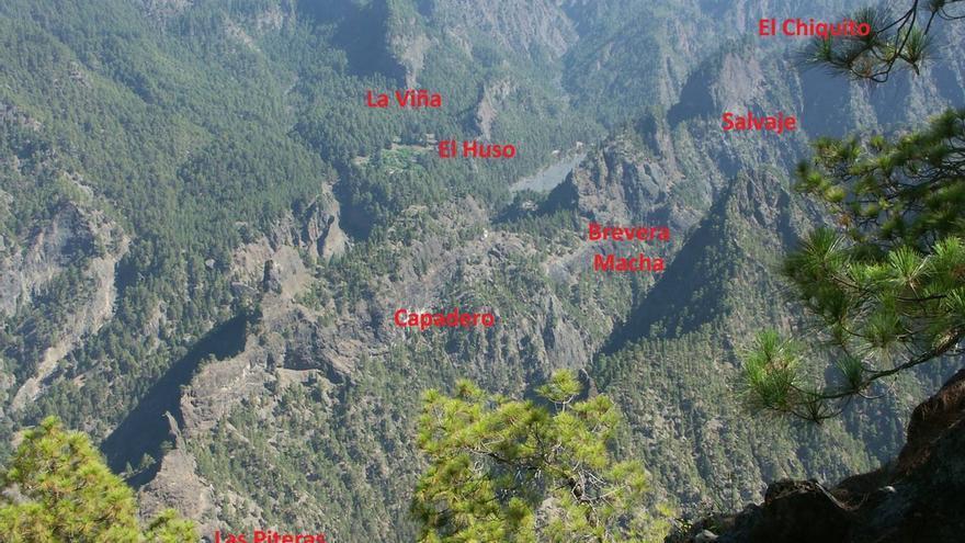En la imagen, los denominados 'Roques Centrales' del Parque Nacional.