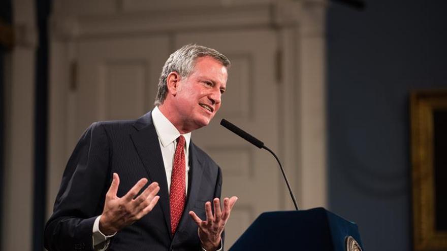 """Alcalde de Nueva York: los estadounidenses quieren """"recuperar su democracia"""""""