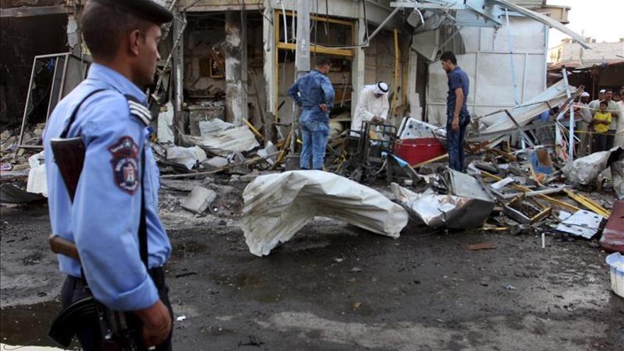 Al menos cinco muertos y veintidós heridos en el  doble ataque a la mezquita en Irak