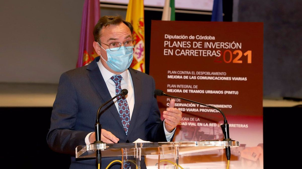 Francisco Palomares detalla las inversiones millonarias que hará la Diputación de Córdoba este año en las carreteras provinciales