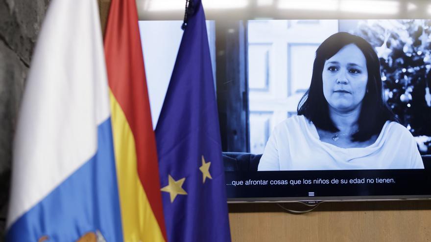 Presentación de la campaña navideña del Gobierno de Canarias Propósitos invisibles.