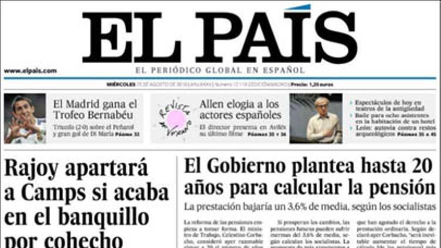 De las portadas del día (25/08/2010) #6