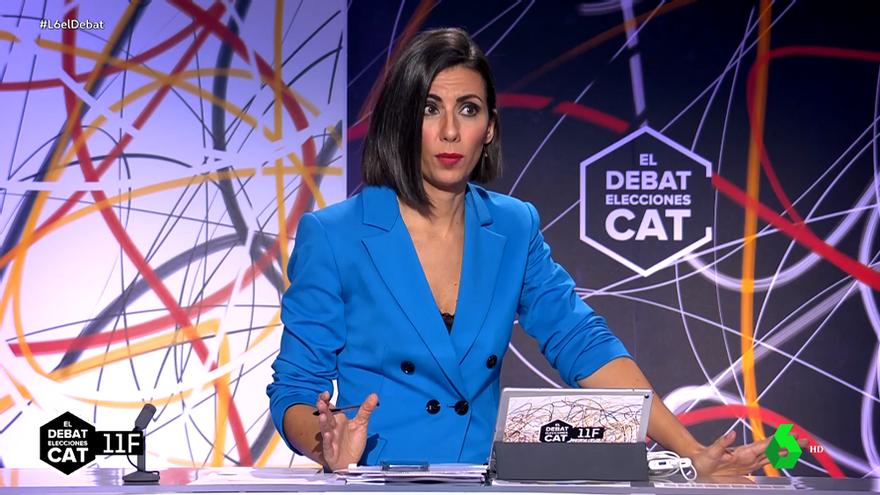 Ana Pastor, durante 'El Debat' de laSexta