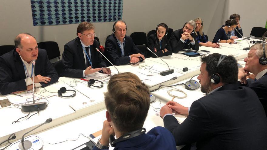 Ximo Puig participa en Madrid en la COP25.
