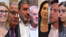 Los candidatos a la alcaldía de Barcelona