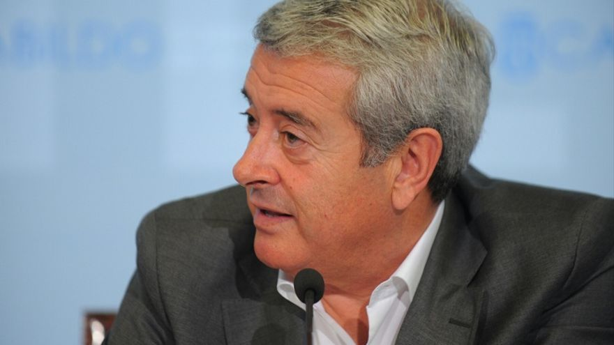 Aurelio Abreu, vicepresidente del Cabildo y responsable de Cooperación Municipal y Vivienda.