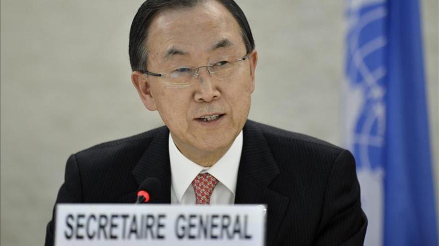 Ban Ki-moon llega hoy a Rusia para tratar el conflicto sirio