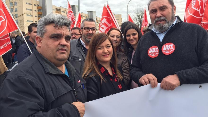 """El PSOE apoya a los """"ocho de Airbus"""" y señala los """"derechos y libertades"""" perdidos con Rajoy"""