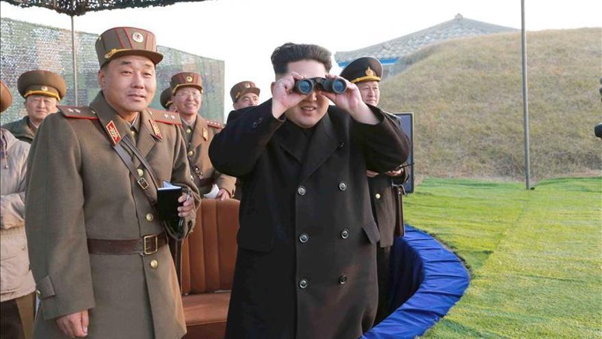 Kim Jong-un da inicio a las maniobras de invierno del Ejército norcoreano