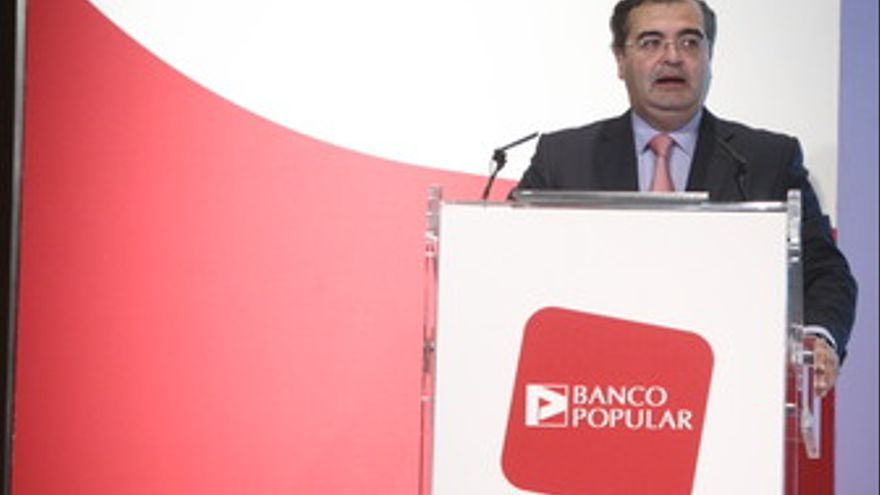 Presidente del Banco Popular, Ángel Ron