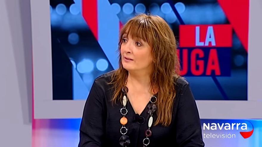 Susana Rodríguez Lezaun, en una entrevista