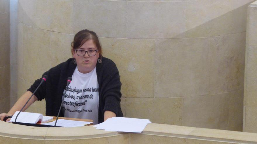 Verónica Ordóñez en el debate de las enmiendas a la totalidad del presupuesto.