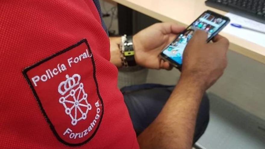Le roban el móvil en Fustiñana y lo logra localizar a través de una aplicación de rastreo.