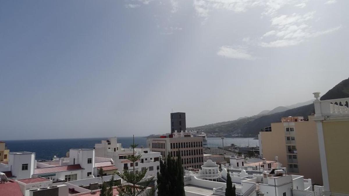 Imagen de archivo de un día de calor en Santa Cruz de La Palma.