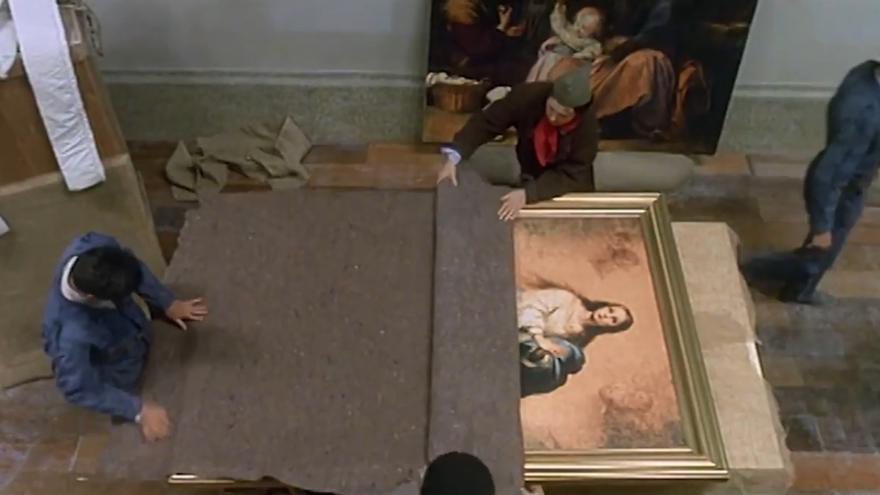 Fotograma del filme 'La hora de los valientes' (1998).