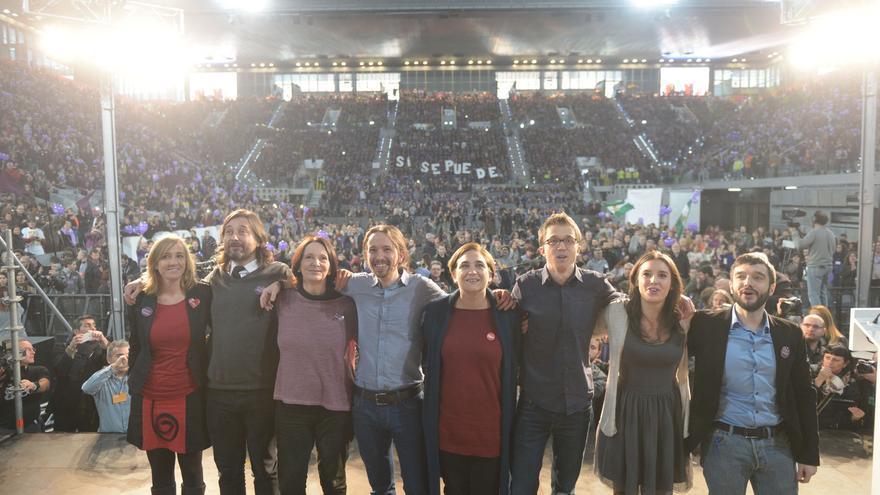Podemos reúne a más 10.000 personas en la Caja Mágica. / Flickr Podemos