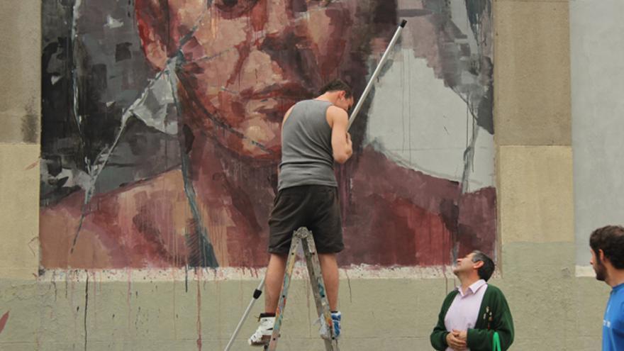 Muros, un proyecto de arte urbano de Madrid Street Art Project