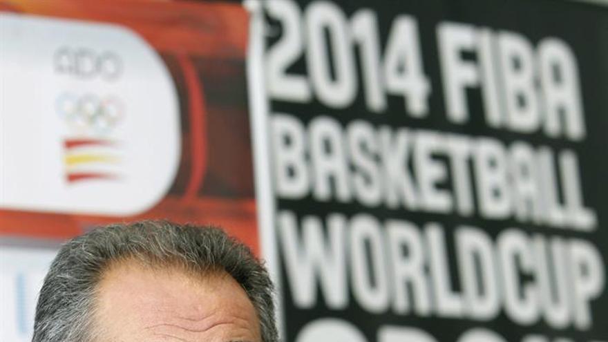 El seleccionador nacional de baloncesto, Juan Orenga. Efe.