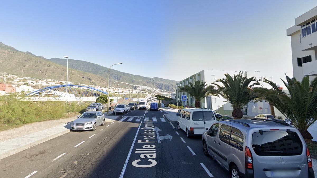 Calle Frailes Dominicos, en Tenerife