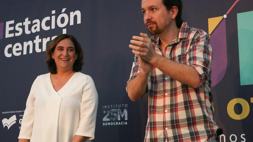 Iglesias y Colau defenderán este domingo en Barcelona la importancia de aprobar los Presupuestos