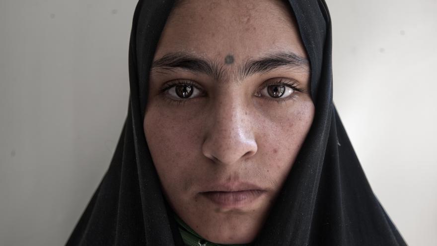 Una de las fotografías de la exposición 'Mujeres Afganistan'.