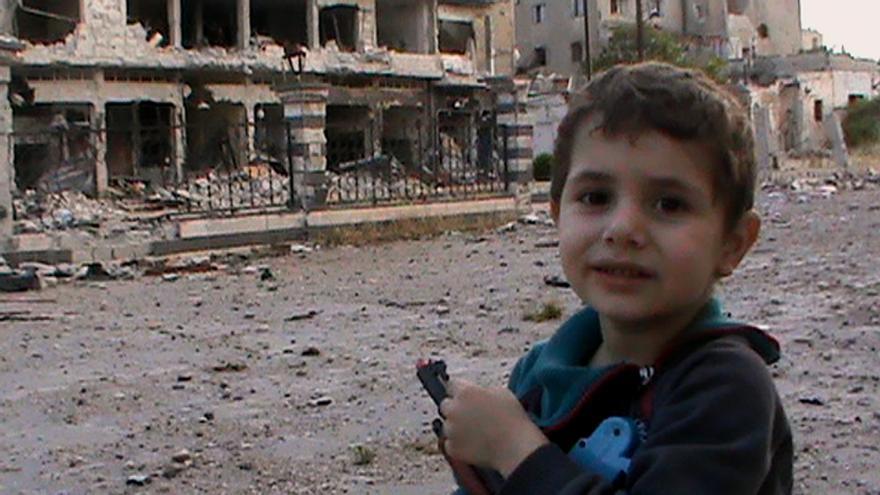 Fotograma del documental 'Syria Self Portrait'.
