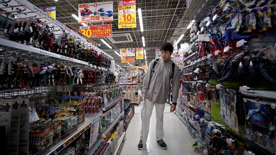 Los precios cayeron en Japón en noviembre por noveno mes consecutivo
