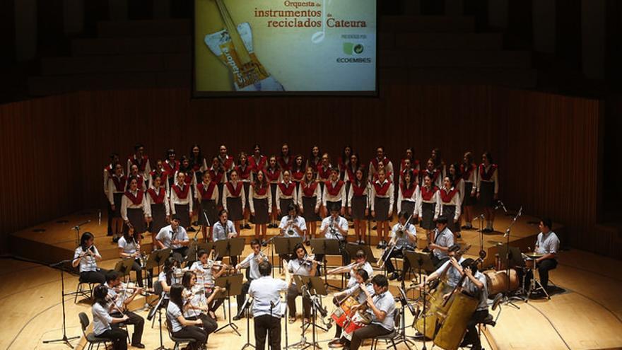 Orquesta de Instrumentos Reciclados de Cateura. / Foto: Ecoembes