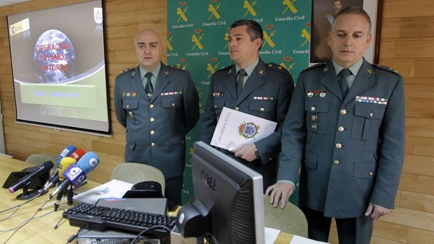 Incautan 3.232 kilos de hachís en Algeciras a una red que operaba en Asturias