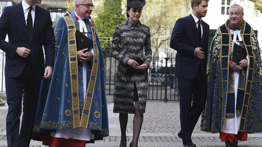 Los duques de Cambridge recuerdan a las víctimas del atentado de Londres