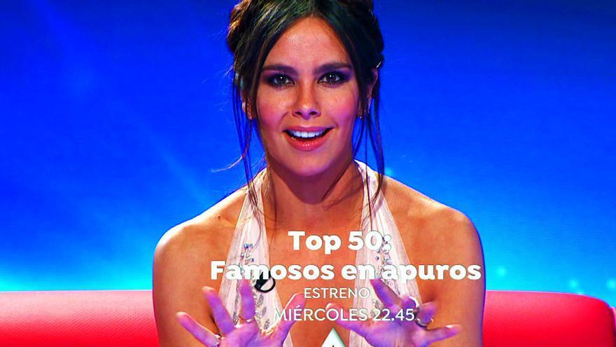 """Cristina Pedroche en """"Top 50: Famosos en apuros"""""""