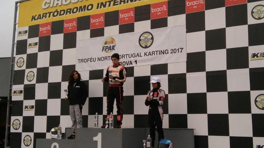 Santi Concepción ocupó el tercer puesto en el Circuito Internacional de Braga, en Portugal.