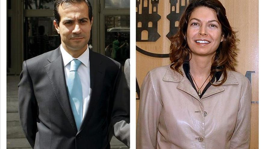 Salvador Victoria y Lucía Figar. / Efe