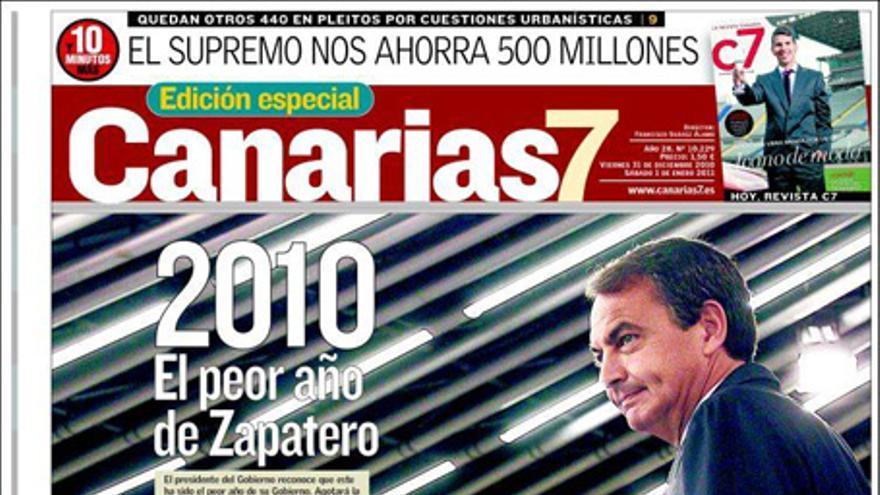 De las portadas del día (31/12/2010) #3