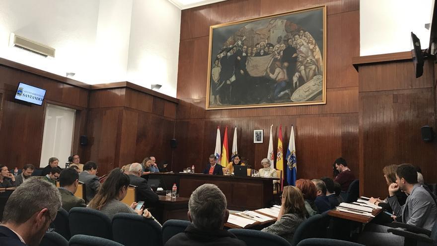 Santander celebra el último pleno de la legislatura en 20 minutos y sin debates