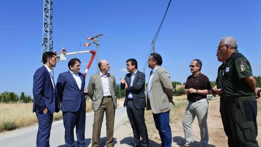 El consejero de Agricultura, Medio Ambiente y Desarrollo Rural ha comprobado el inicio de los trabajos en Albacete FOTO: JCCM