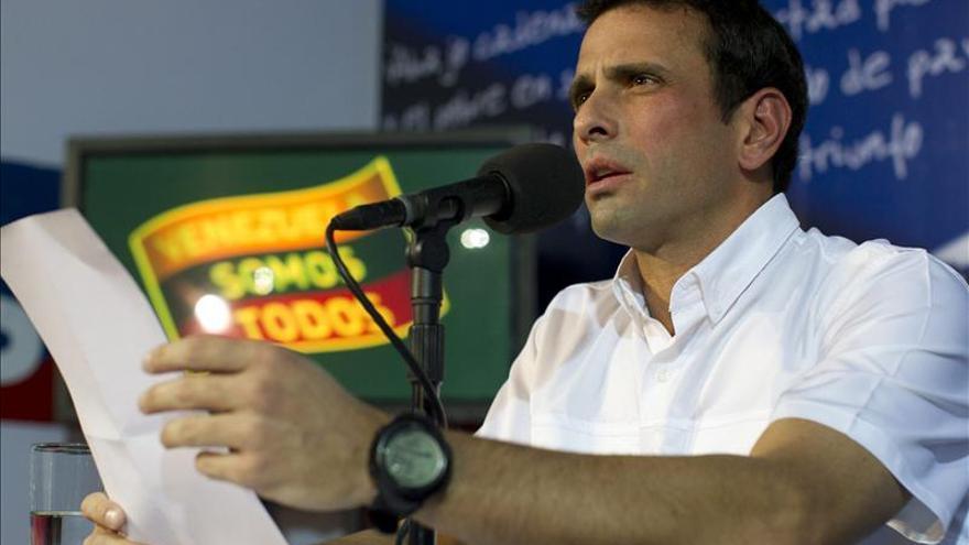 Capriles presentará mañana la impugnación de las elecciones en Venezuela