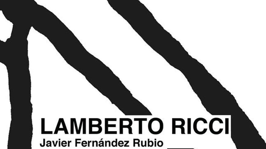 Portada de 'Lamberto Ricchi', el poemario de Javier Fernández Rubio.