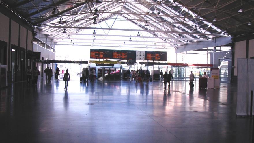 Interior de la estación Alacant Terminal