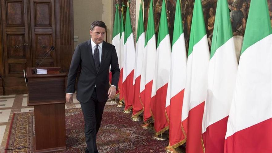 """Renzi promete que no habrá """"ladrones"""" en la reconstrucción tras el terremoto"""