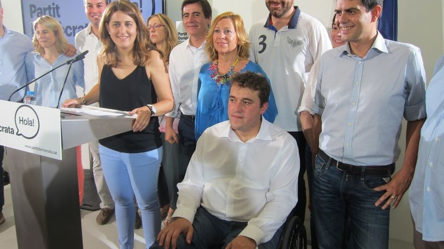 """Marta Pascal buscará convertir al PDC en el """"referente político"""" de un Estado catalán"""