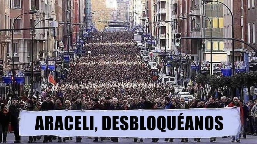 Meme sobre Araceli creado por Modesto García