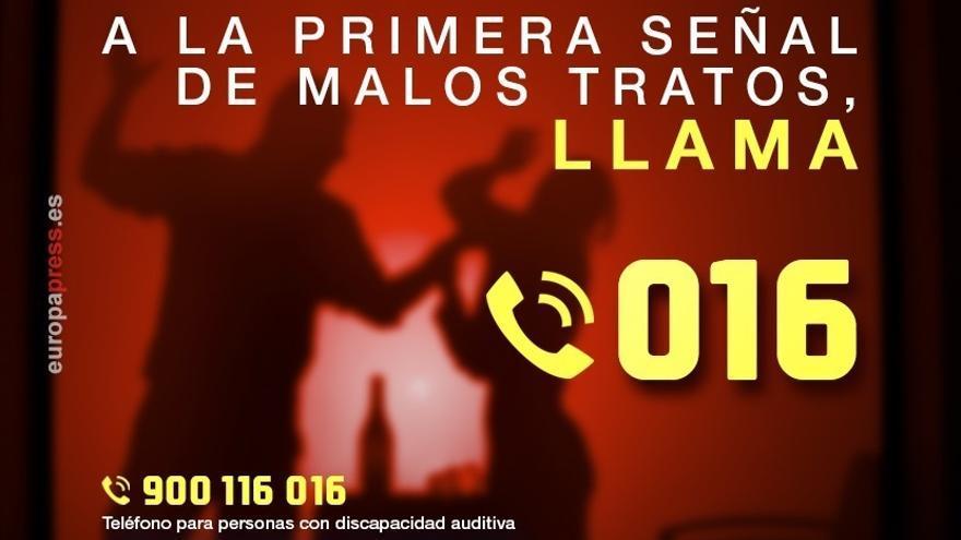 Las denuncias por violencia de género suben un 21,6% en Andalucía en 2017 respecto a 2016