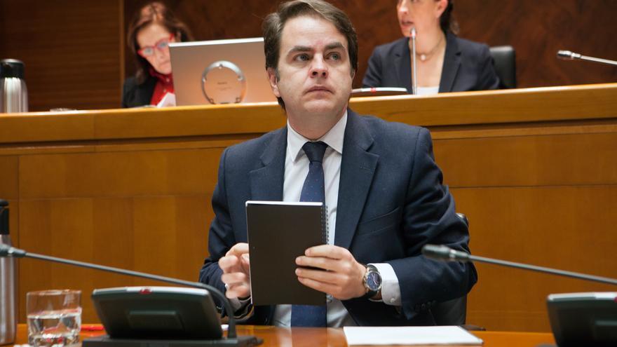 Roberto Bermúdez de Castro fue consejero de Presidencia y portavoz del Gobierno de Aragón la pasada legislatura autonómica