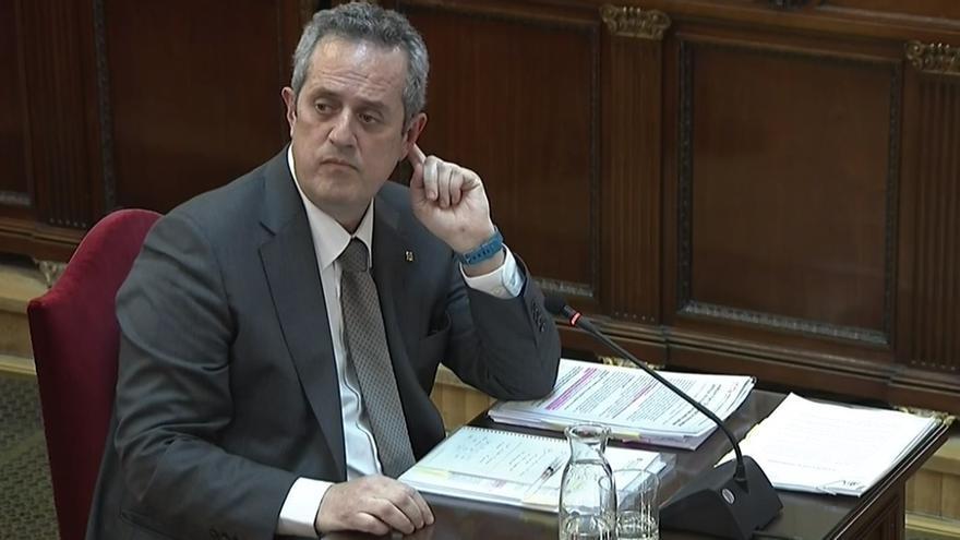 Comparecencia de Joaquim Forn en el juicio por el procés