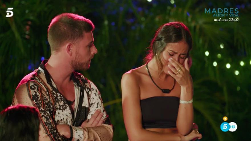 Melyssa y Tom, en 'La isla de las tentaciones 2'